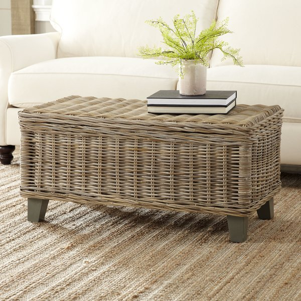 Rivera Rattan Coffee Table