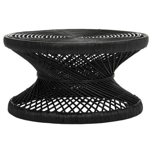 Woven Rattan Coffee Table