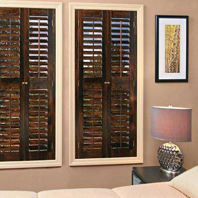 Wood Shutters - Plantation Shutters - The Home Depot