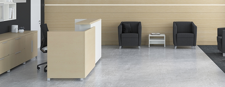 Office Furniture - Lacasse - Reception Furniture Collection