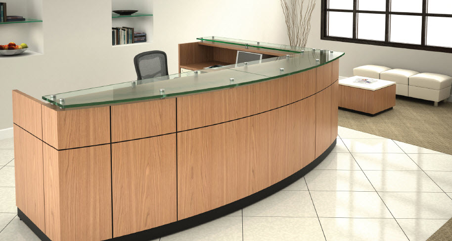 Reception Furniture | Office Reception Desks | Receptionist Furniture