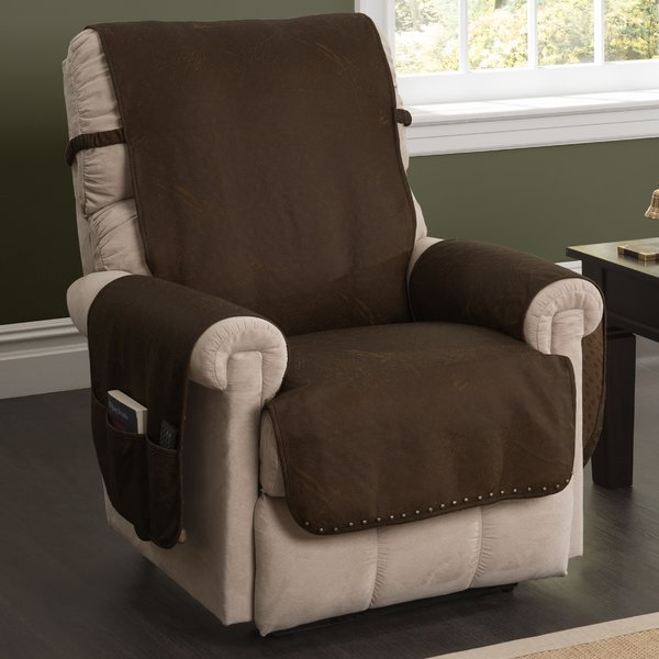 Innovative Textile Solutions Box Cushion Recliner Slipcover