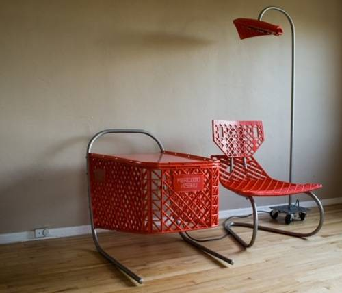 Recycled furniture a la cart | MNN - Mother Nature Network