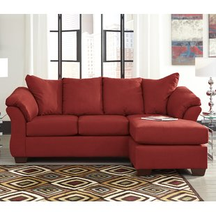 Chaise Sofa Red Sectionals You'll Love | Wayfair
