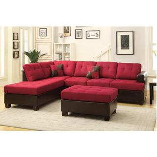 Shop Jason 3-piece Sectional Sofa - Free Shipping Today - Overstock