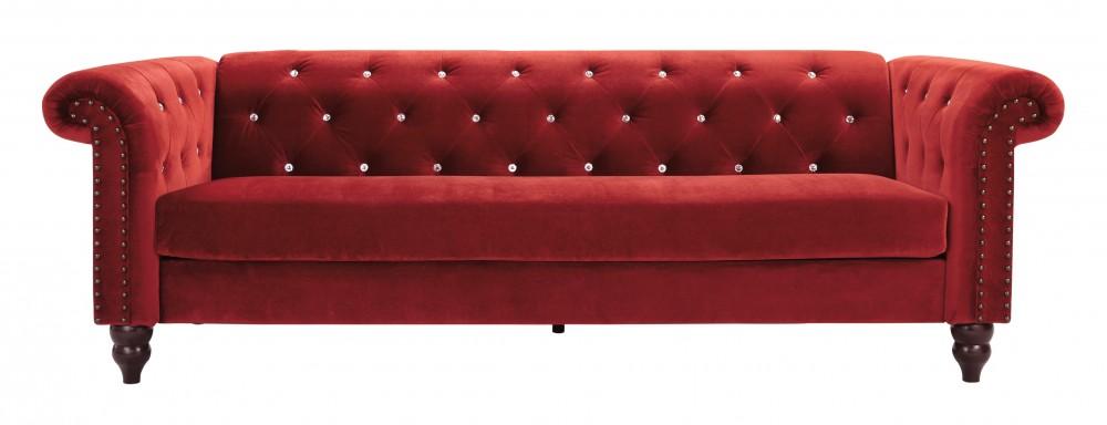 Malchin - Red - Sofa | Sofas | Vivian's Quality Furniture