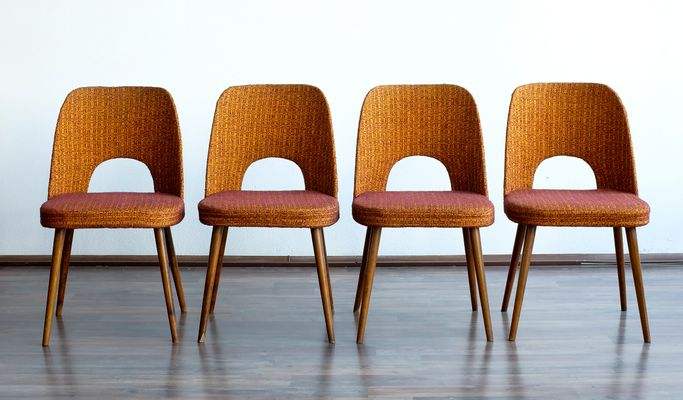 Vintage Dining Chairs by Oswald Haerdtl for Thonet, Set of 4 for