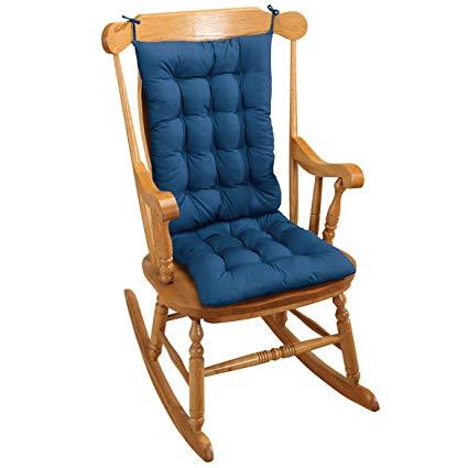 Amazon.com: Rocking Chair Cushion - Blue: Home & Kitchen