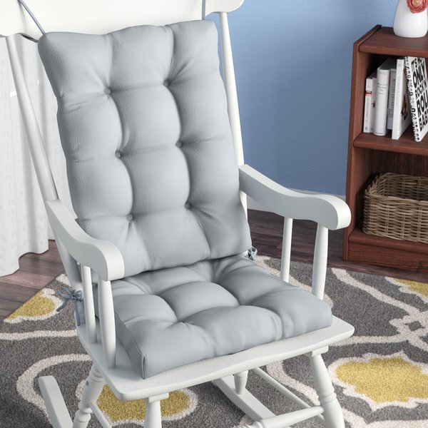 Andover Mills 2 Piece Indoor Rocking Chair Cushion & Reviews | Wayfair