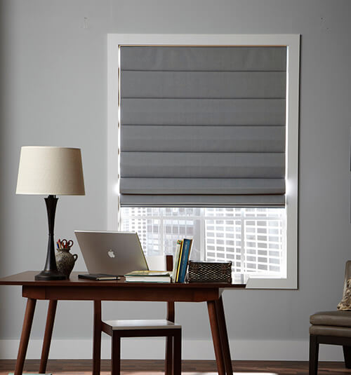 Boutique Roman Shades: Solids | Blindsgalore