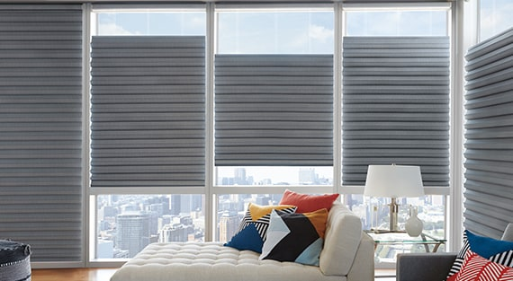 Roman Shades | Custom Fabric Roman Shade | Hunter Douglas
