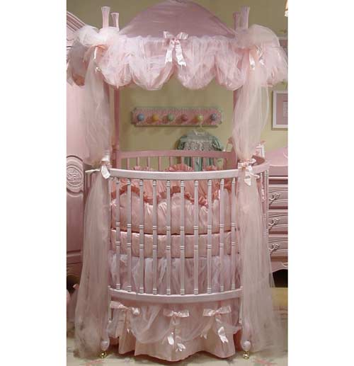 Monaco Round Crib Bedding Round Crib Bedding Sets - aBaby.com