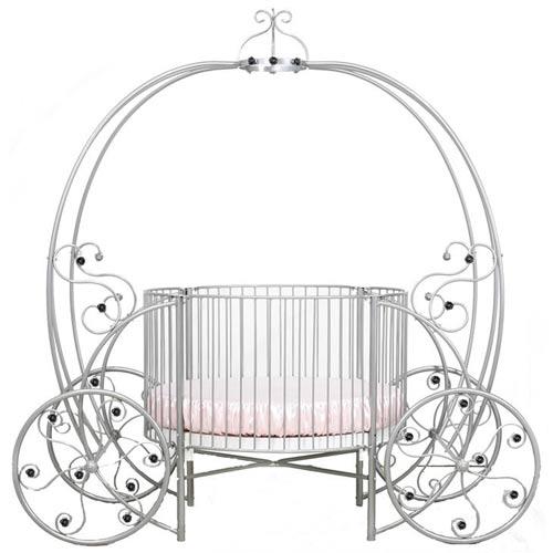 Fairytale Pumpkin Round Crib | Round Baby Iron Crib Online | aBaby