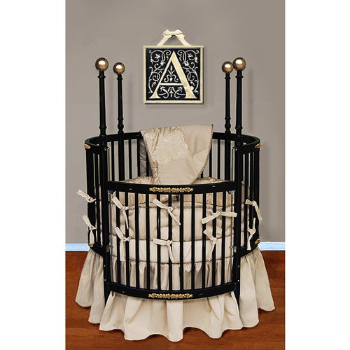 Round Crib for Cute Nurseries