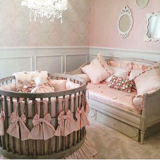 Round crib love this one u2026 | baby room | Pinteu2026