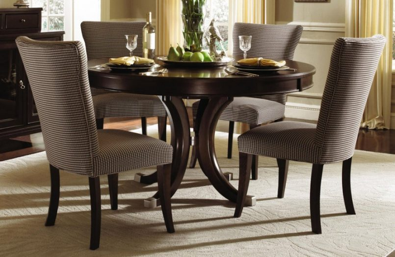 Kitchen Dining Table And 4 Chairs Dining Room Table Furniture Round
