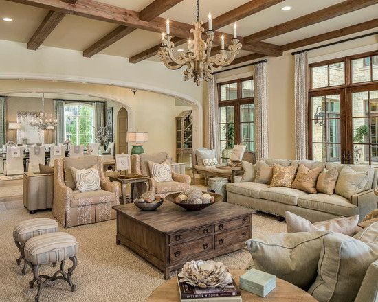 The Beauty of Neutrals   Furniture   Pinterest   Family Room Design