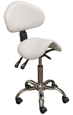 Esthetician Saddle Stool