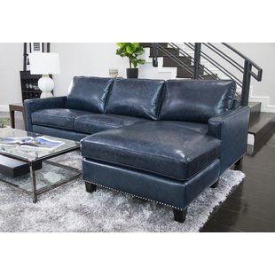Leather Sectional Sofas You'll Love | Wayfair