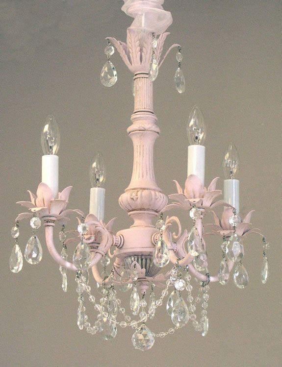 Lighting - Chandeliers - Pleasant Dreams 4-Arm Crystal Chandelier