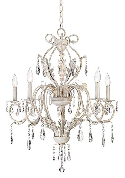 Shabby Chic Chandelier Adds Ambiance to   Your Room