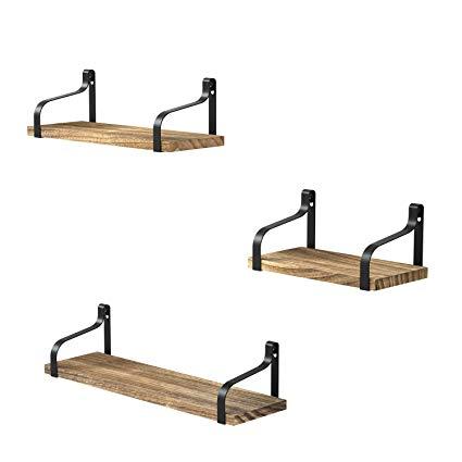 Amazon.com: Love-KANKEI Floating Shelves Wall Mounted Set of 3