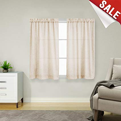 Amazon.com: Short Curtains for Bathroom 45