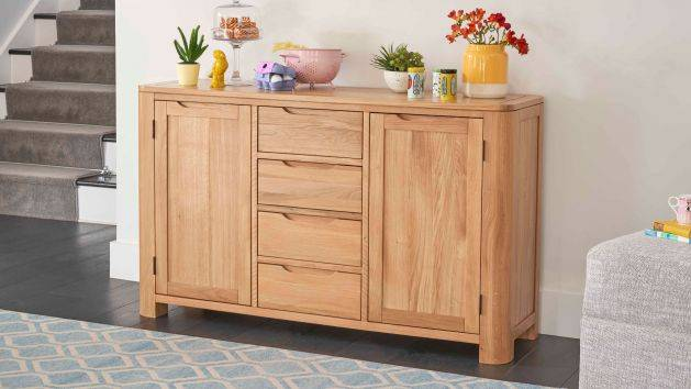 Oak Sideboards | Solid Wood Sideboard Cabinets | Oak Furnitureland