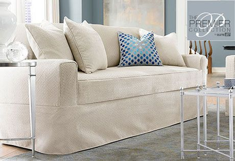 Sure Fit Slipcovers Premier Acadia Separate Seat Sofa Slipcovers