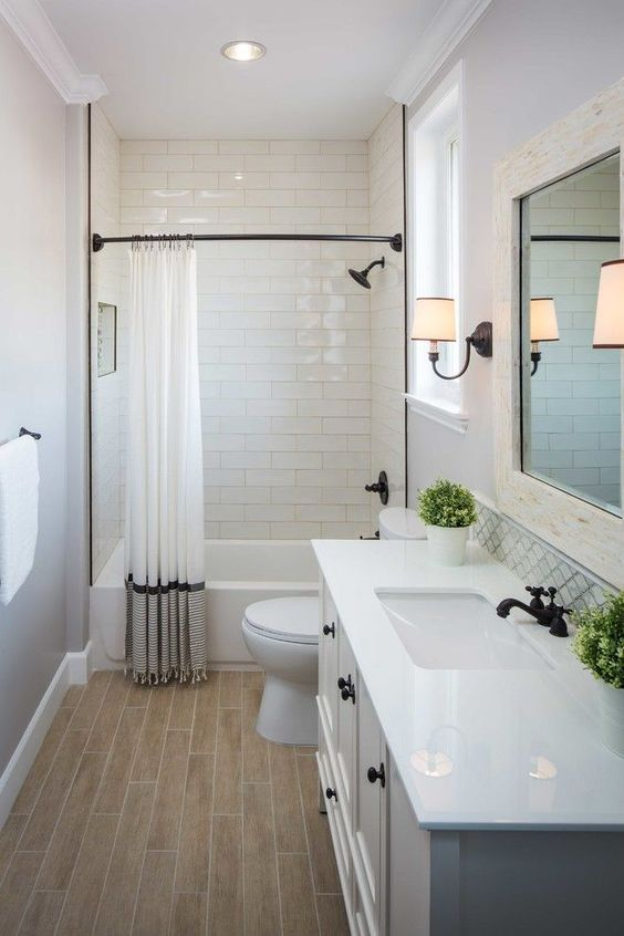 small bathroom makeover u2026 | when i own a house | Bathroom, Bathroom