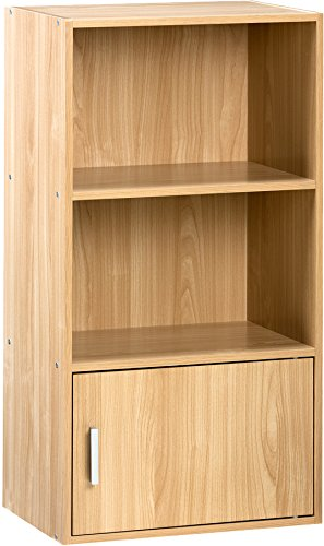 Amazon.com: Comfort Products Small Modern Bookshelf, Oak: Kitchen