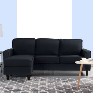 Small Space Sofa With Chaise   Wayfair