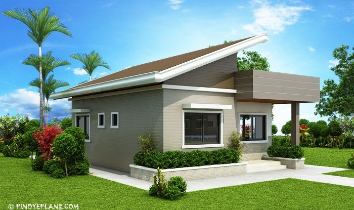 TWO BEDROOM SMALL HOUSE DESIGN | Home Design