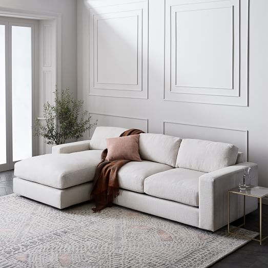 Urban 2-Piece Chaise Sectional - Small | west elm