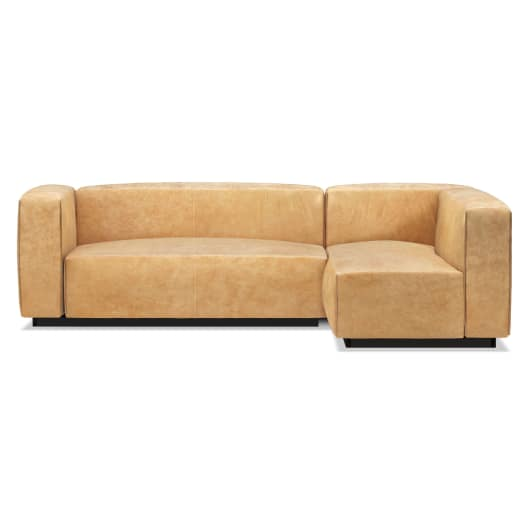 Small Leather Sectional Sofa - Modern Sectional Sofas | Blu Dot