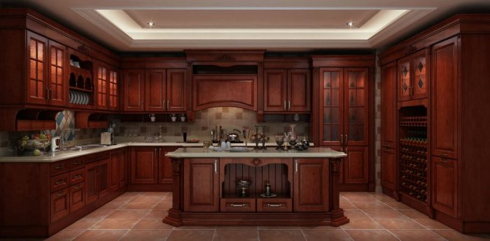 An Insight into Solid Wood Kitchen Cabinets | | Founterior