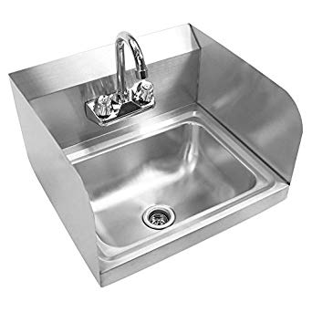 Amazon.com: GRIDMANN Commercial NSF Stainless Steel Sink with Faucet