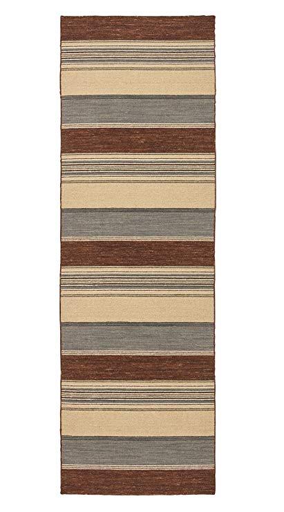 Amazon.com: Stone & Beam Modern Striped Rug, 2'6