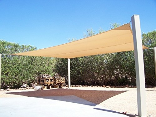ALEKO | Sand Rectangular Shade Sail