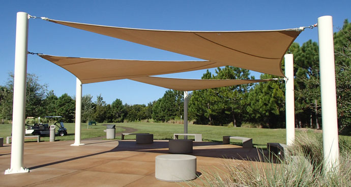 Shade Sails & Tension Sun Shades