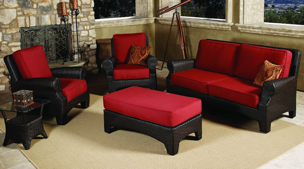 Sunroom Furniture // Wicker.com - Wicker.com