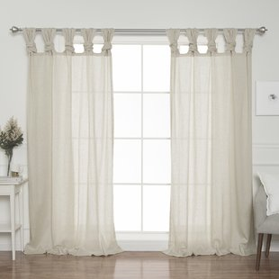 Twist Tab Top Curtains   Wayfair
