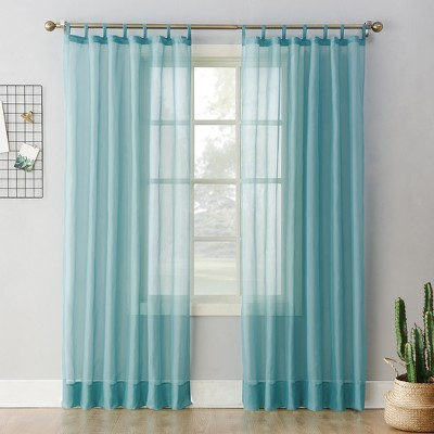 Emily Sheer Voile Tab Top Curtain Panel - No. 918 : Target