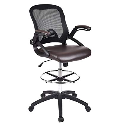 Amazon.com : Drafting Chair Tall Office Chair for Adjustable