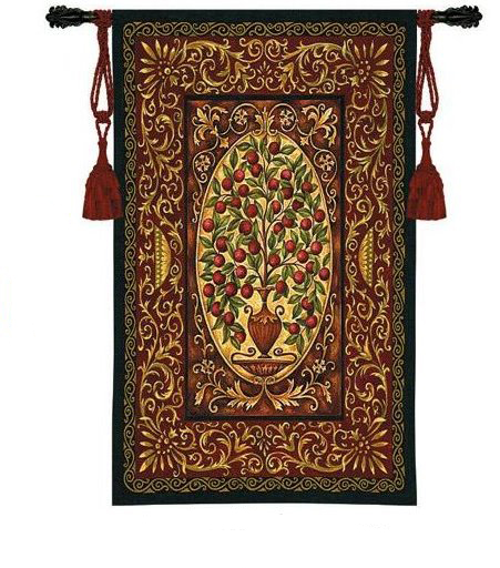Delectably-Yours.com Abundance Tapestry Wall Hanging by Helen