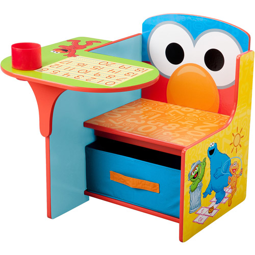 Sesame Street Elmo Toddler Desk Chair with Storage - Walmart.com