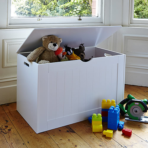 STORE | White Toy Storage Chest