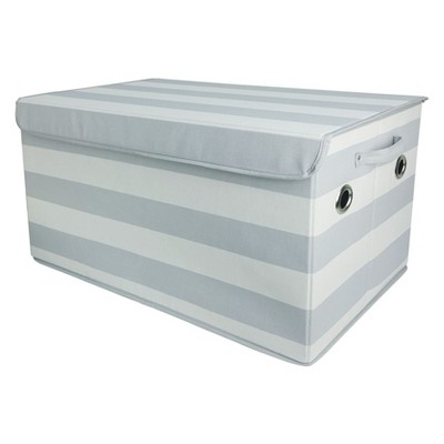 Toy Storage Bin Gray White - Pillowfort™ : Target