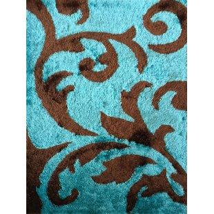 Turquoise And Brown Rug   Wayfair