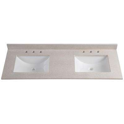 Vanity Tops - Bathroom Vanities - The Home Depot